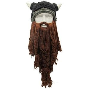 Funny Barbarian Knit Funny Knit Hat Facemask